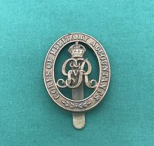 Corps of Military Accountants KC - 100% Genuine British Military Army Cap Badge