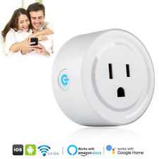 Wi-Fi Mini Smart Plug Socket Wireless Remote Control Timer Switch Power Outlet