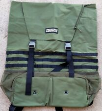 TRASHAROO Off-Road Canvas Bag, DRAB GREEN - Gen 2, Easily Attaches to Spare Tire
