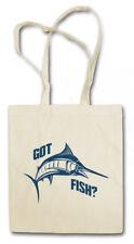 Got Fish? Shopper Shopping Bag Fisher rod pole sea River line fish Fishing