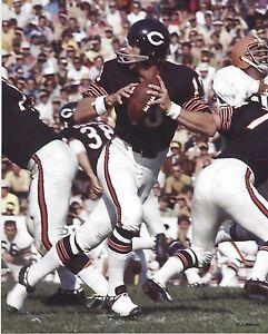 8x10 photo football Bobby Douglass Chicago Bears cir. 1970 Kansas Jayhawks grad