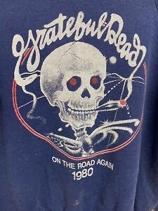 Vintage Printed Grateful Dead Raglan Sweatshirt