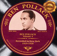 NEW Volume 4: 1929-1930 (Audio CD)