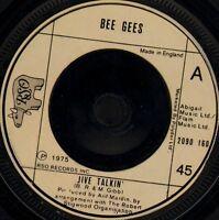 "THE BEE GEES jive talkin'/wind of change 2090 160 uk rso 1975 7"" WS EX/"