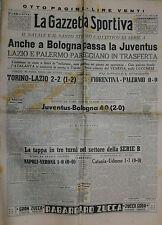 La Gazzetta Sportiva  N°41 /27.DIC.1949 - JUVENTUS - BOLOGNA 4 -0 ! TO-LAZIO 2-2