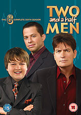 TWO AND A HALF MEN COMPLETE SERIES 6 SIXTH SEASON R2 DVD SET 4-DISC NEW/SEALED