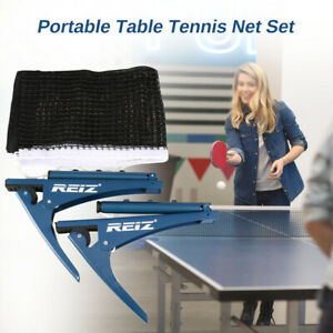 Collapsible Table Tennis Net Clipper Ping Pong Net F/Training Competition O2W8