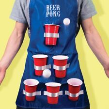 Man Apron Beer Pong Chef Novelty Cooking Accessory  Gift Fancy Dress