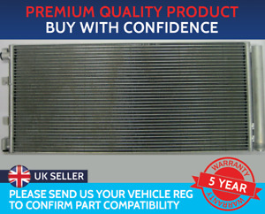 CONDENSER AIR CON RADIATOR TO FIT NISSAN NV400 VAUXHALL MOVANO RENAULT MASTER