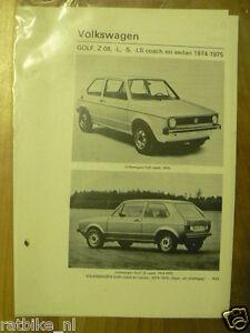 V32-VOLKSWAGEN GOLF, Z 08,L,S,LS COACH EN SEDAN 1974-19