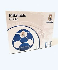 Official Real Madrid Football Club Inflatable Chair Age 3+ 30kg Brand New