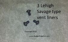 Lehigh vent liner-BagerRidge-Savage ML-II & multiple other breech plugs - 3Pack