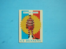 1960/61 TOPPS NHL HOCKEY CARD #8 CY DENNENY ATG EX/NM SHARP!! 60/61 TOPPS
