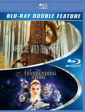 Where the Wild Things Are/The Neverending Story (Blu-ray Disc, 2014, 2-Disc Set)
