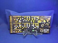 Boston Bruins 2015-16 Magnetic Schedule Chara Bergeron TD Bank