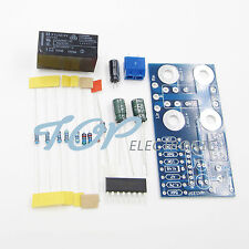Dual channel UPC1237 Speaker Protection Board DC Boot Delay Protection DIY Kit