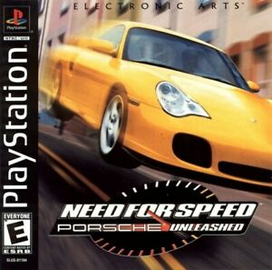 Need For Speed Porsche Unleashed PS1 Great Condition Fast Shipping