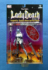 LADY DEATH BRIAN PULIDO CHAOS COMICS CLAYBURN MOORE ACTION COLLECTIBLES FIGURE