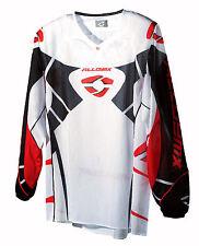 Alloy Motocross MX Jersey 06 Viper Ventilación Blanco/Negro/Rojo Moto Carreras
