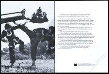 1974 Kung Fu TV show director cinematographer actors photo Kodak trade print ad