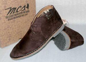 Marlboro Classic MCS Trevor MX.172M.006 Suede Leder Business Schuhe 41 44 Braun