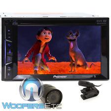 "pkg PIONEER AVH-500EX 6.2"" DVD CD MP3 USB IPOD STEREO BLUETOOTH + BACKUP CAMERA"