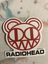 - Radiohead Sticker - Logo Decal WASTE Modified BEAR   Tom Jonny Ed Colin Radio