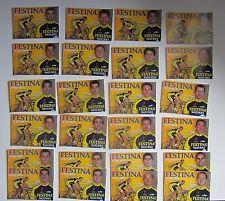 Equipe FESTINA 2001, 24 Cartes Cyclisme.