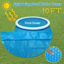 Round Pool Cover Protector Intex 8 10 12 15 ft Foot Ground Blue Protection
