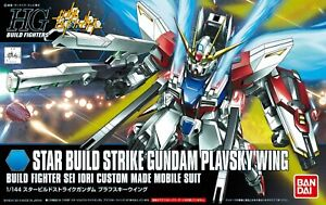 Bandai Hobby HGBF Star Build Strike Gundam Plavsky Wing HG 1/144 Model Kit USA