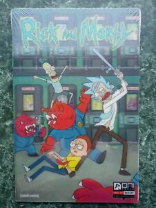 Rick & Morty #1 SDCC Lenticular Cover (157/2000) NEW SEALED (Oni Press)