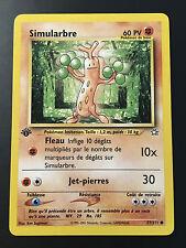 Carte Pokemon SIMULARBRE 77/111 Com Néo Génésis Wizard Française NEUF EDITION 1