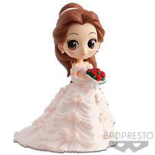 Banpresto Disney Princess Characters Qposket Belle PINK dreamy wedding figure