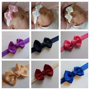 Baby Headband Bow Hairband Hair Accessories Super Soft lots of colours