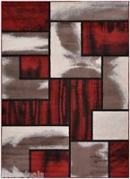 Red Black White New Stripes Area Rug Modern Abstract Carpet Mat 2x3 2x7 5x7 8x1