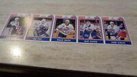 1992-93 Dunkin'Donuts Rochester Americans AHL Hockey Strip of 5 - Olaf Kolzig
