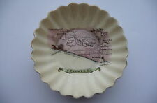 C1910 VINTAGE WILEMANS FOLEY CHINA LEWES (SUSSEX) SOUVENIR PIN DISH