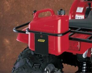 Moose Utility Wedco Gas Can Holder Mounts ATV Front & Rear Tubilar Metal Racks