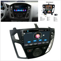 For Ford Focus 12-17 9'' Android 9.1 Car Stereo Radio WIFI 3G 4G DAB GPS Player