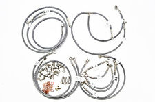 13 GL1800 Goldwing ABS (Linked) Galfer 14-Line Brake and Clutch Line Kit, Clear