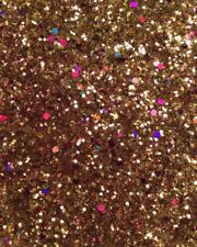 "Chunky Red, Purple & Gold Nail Art Glitter Metallic Mix - ""INDIAN SUMMER"" 5g Bag"