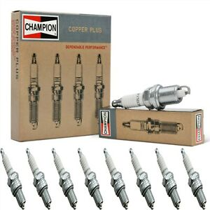 8 pcs Champion Copper Spark Plugs Set for 1959 STUDEBAKER 4E2 V8-4.2L