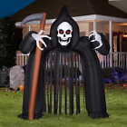 Halloween Inflatable Archway Haunted House 10.26 Ft Blow up Party Decorations