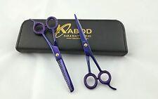 "Professional Hairdressing Hair Cutting Barber Scissors  Razor Edge 6.5"" 440c"