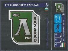 PANINI UEFA CHAMPIONS LEAGUE 2014-15- #012-PFC LUDOGORETS RAZGRAD BADGE-FOIL