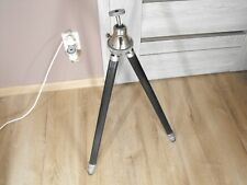 Vintage Old Big tripod with head 2-Section 160cm