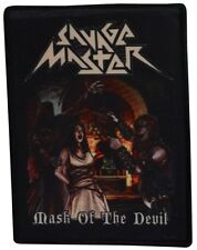 Savage Master-Mask of the Devil [printed patch]