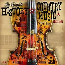 Complete History Of Country Music 1923-1962 - Various (NEW 4CD)