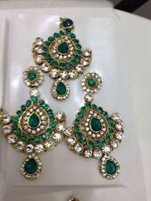Jade Women Earrings Indian Jewellery