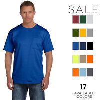 Fruit of the Loom - Mens 5 oz. 100% Heavy Cotton HD Pocket T-Shirt-3931P